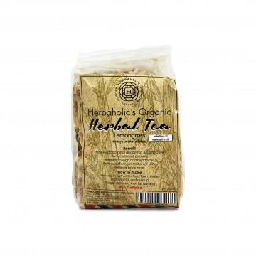 HERBAHOLIC'S ORGANIC - Herbal Tea Lemongrass 100g